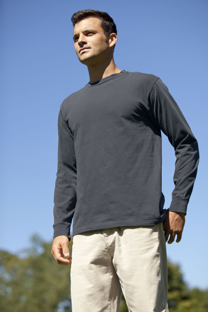Color Wash Long Sleeve T-Shirt