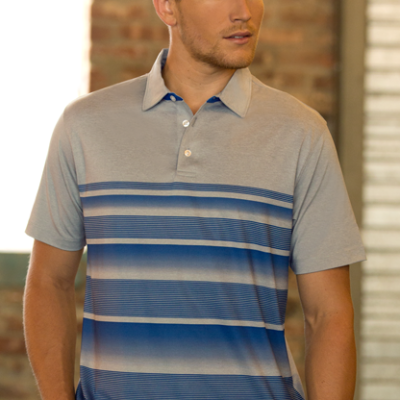Vansport™ Pro Fade Stripe Polo