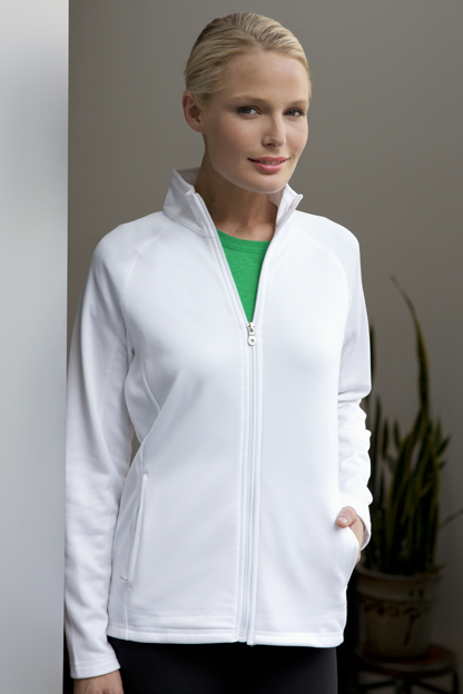Women's Brushed Back Micro-Fleece Full-Zip Jacket