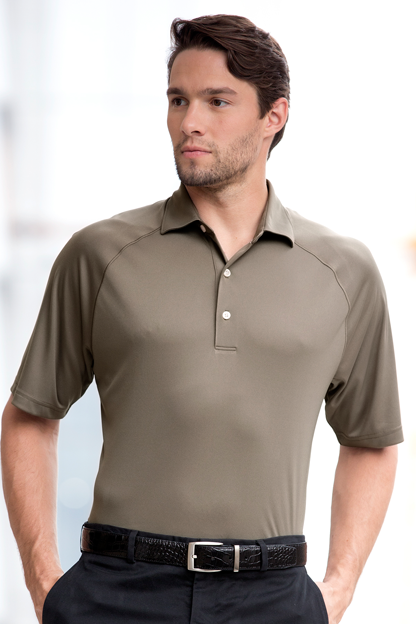 Greg Norman Play Dry® ML75 Micro Lux Solid Polo