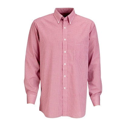Van Heusen Easy-Care Gingham Check Shirt