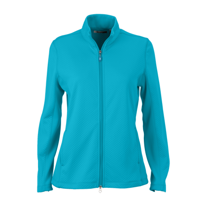 Women's Greg Norman Embossed Dot Jacket